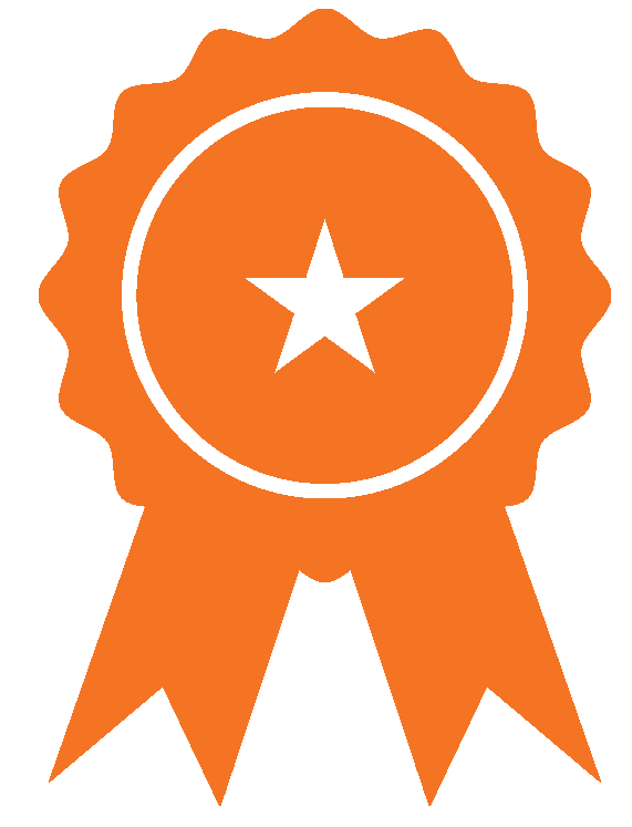 medal badge icons_orange